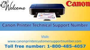 Canon printer technical support number 1-800-485-4057