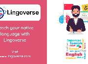 Lingoverse is looking for language teachers